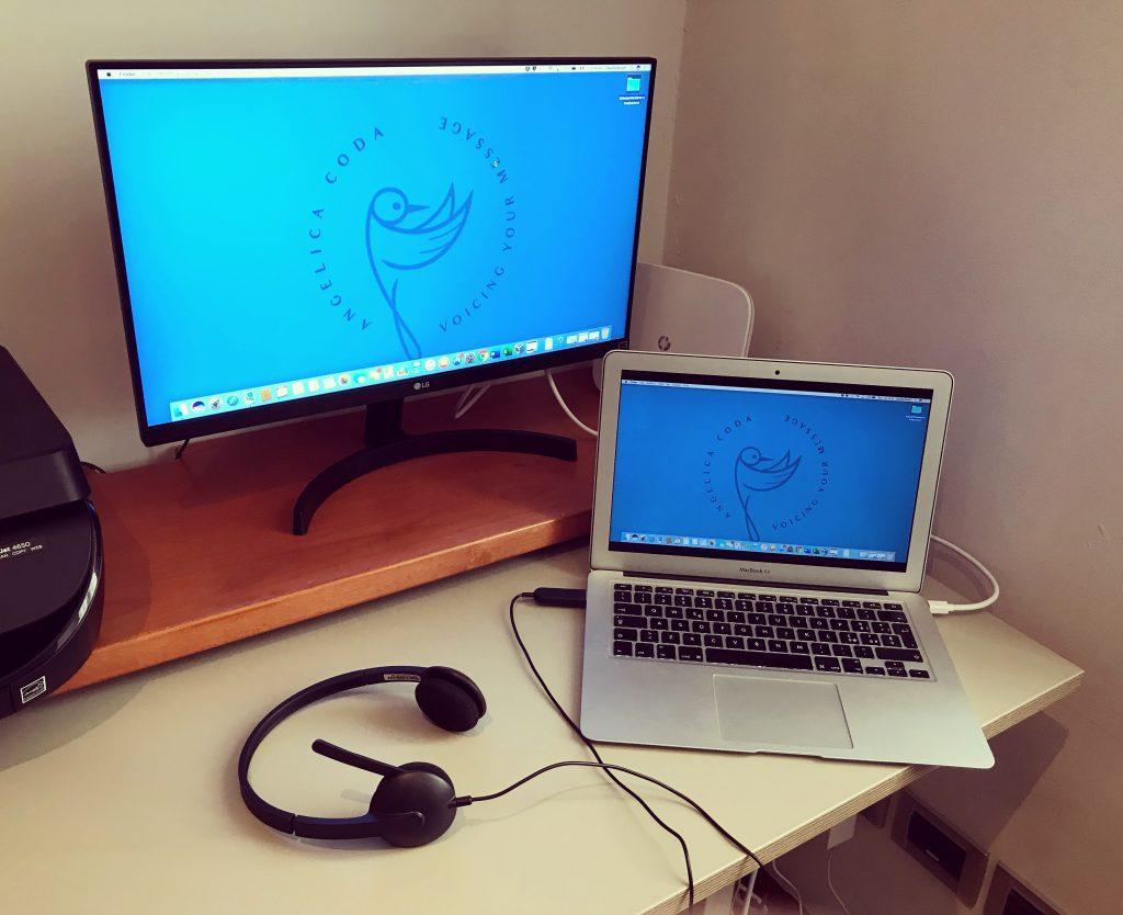 Il mio ufficio per l'interpretazione da remoto